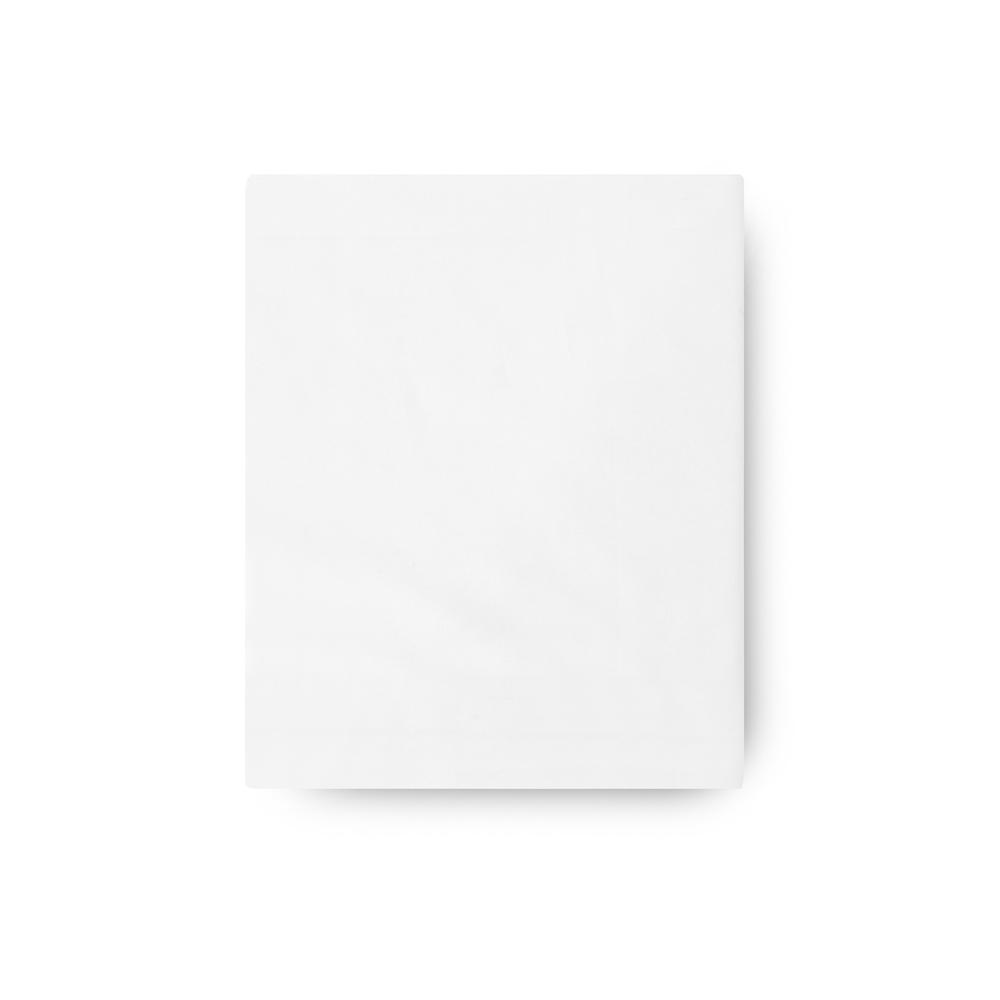 Простыня прямая Luxury Сатин 430ТС белая